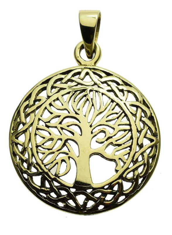 Tree of Life - hanger - Brons