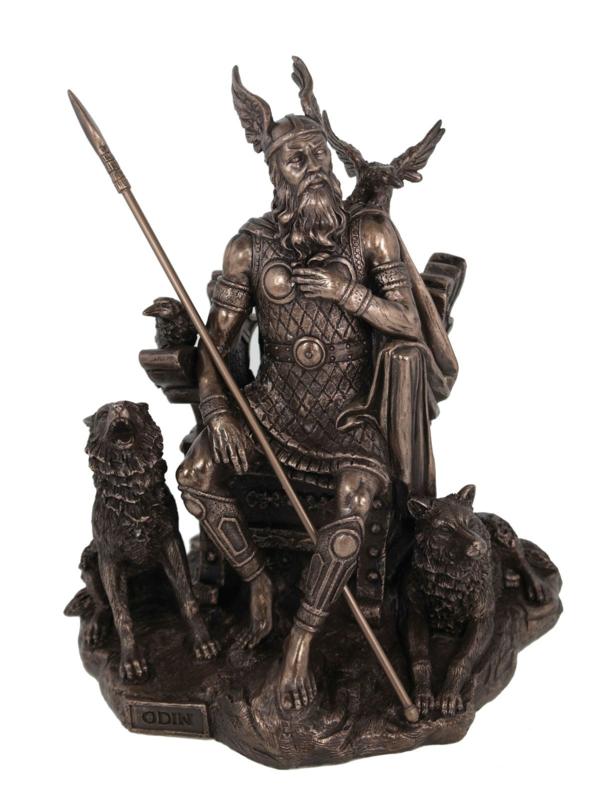 Odin - God van wijsheid - 27cm