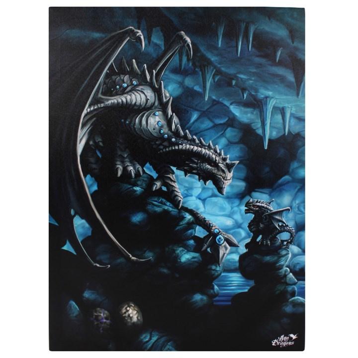 Canvas 50x70cm  - Rock Dragon - Anne Stokes