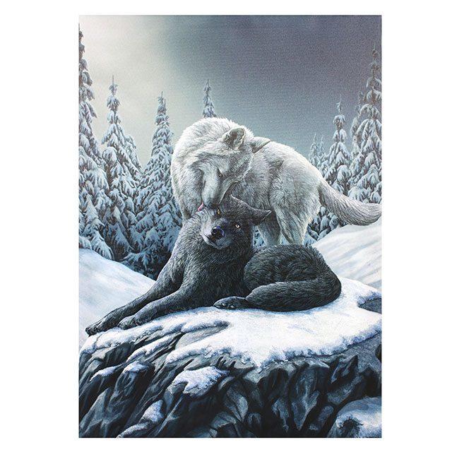 Canvas 50x70cm  - Snow Kisses - Lisa Parker