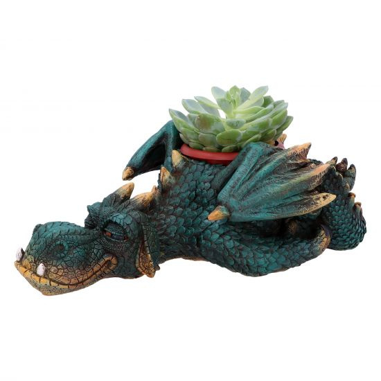 Dozing Dragon - plant pot