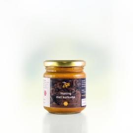Honing met kurkuma 250 gram