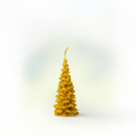 Dennenboom van zuivere bijenwas