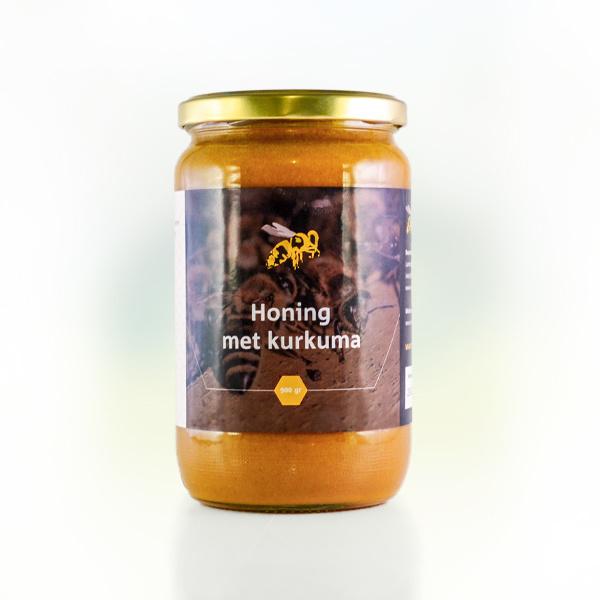 Honing met kurkuma 900 gram