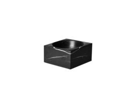 Taurus Black Square Dish