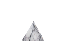 Lilac Triangle Coaster Set