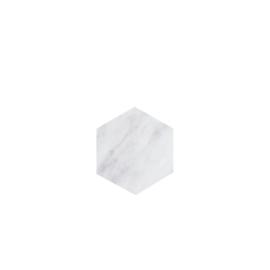 Bianco Hexagon Coaster set of 4