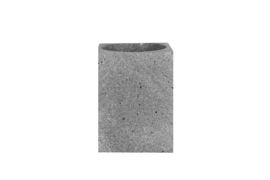 Basalt Square Brush Holder