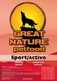 400 kilo geperste brokken sport/active 26/16 (20x20 kg)