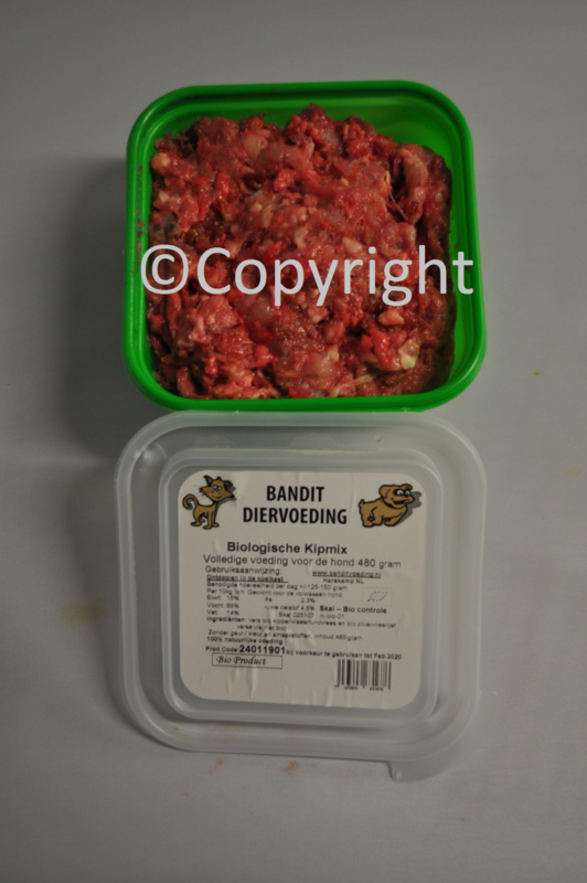 Bandt Bio Vleesmix Kip | 480 gram