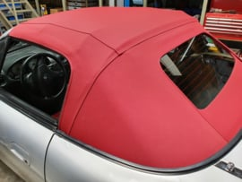 Mazda MX5 MX-5 NA/NB/NBFL Cabriokap ROOD Softtop Stof NIEUW