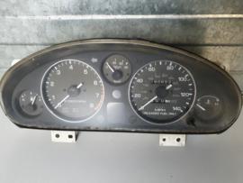 Klokkenpaneel km teller tellerbak gebruikt voor een Mazda MX-5 NA Miata