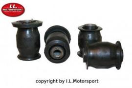 Mazda MX5 MX-5  NA/NB/NBFL Ophang Bus Draagarm Voorzijde Onderkant I.L.Motorsport Set 4 delig