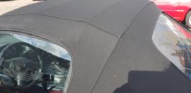Mazda MX5 MX-5 NA/NB/NBFL Cabriokap ZWART Softtop Stof (glazen ruit) Gebruikt op frame