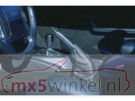 Mazda MX5 MX-5 NA/NB/NBFL  Zwart Leder Handremzak Greep Hoes