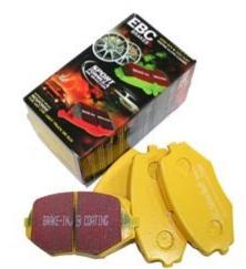 EBC Remblokken Yellowstuff voorzijde Mazda MX5 NB/NBFL (voor 255 mm remschijven)