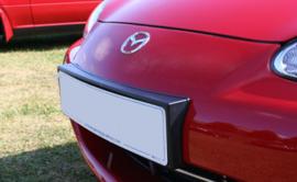 Kentekenplaathouder voorzijde kunststof voor Mazda MX-5 NBFL