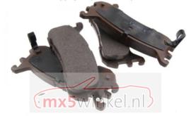Mazda MX5 MX5 NA/NB/NBFL (251 mm remschijven) Ashuki Remblokkenset achterzijde