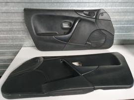 Set 2x Deurpaneel zwart gebruikt voor de Mazda MX-5 NB
