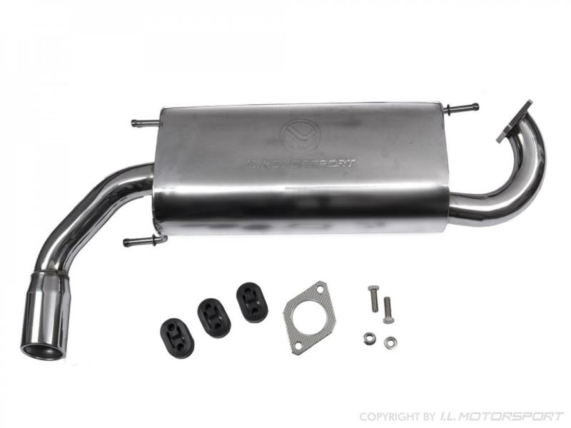 Mazda MX5 MX-5 NB/NBFL Roestvrije Uitlaat MK2 - 2,5 1,6l & 1,8l