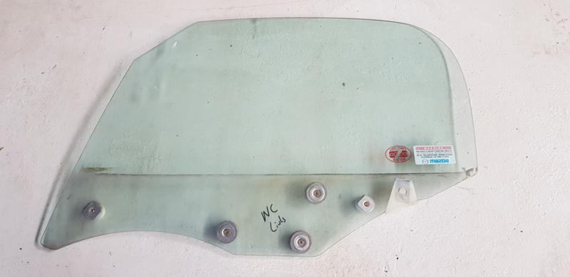 Zijruit (portierruit) LINKS gebruikt voor de Mazda MX-5 NC