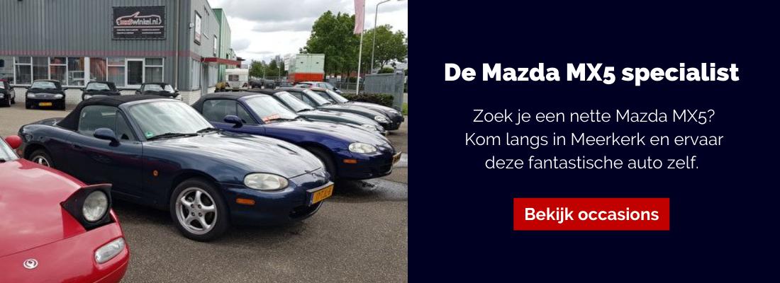 De Mazda MX5 specialist
