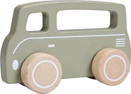 Little Dutch houten busjes- olive