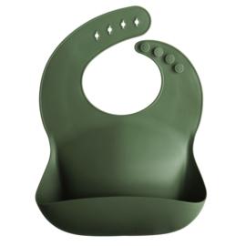 Mushie Bibs Siliconen Slab |  Forrest green