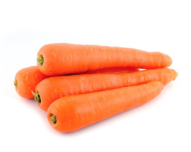 ORGANIC Carrots orange NL 10 kg plastic bag (Enter p/ pcs)