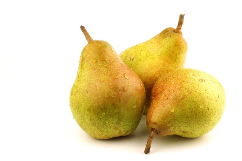 ORGANIC Pears Doyenne du Comice NL 12 kg box (Enter p/ pcs)
