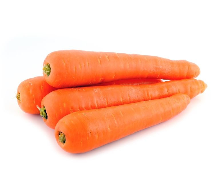 BIO Möhren orange NL 10 Kg Plastiksack (Eingabe p/ St.)
