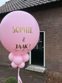 Ballon XL op stok (zonder voetstuk)