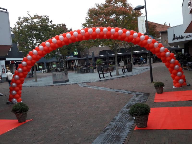 Ballonnenboog maat XXXL