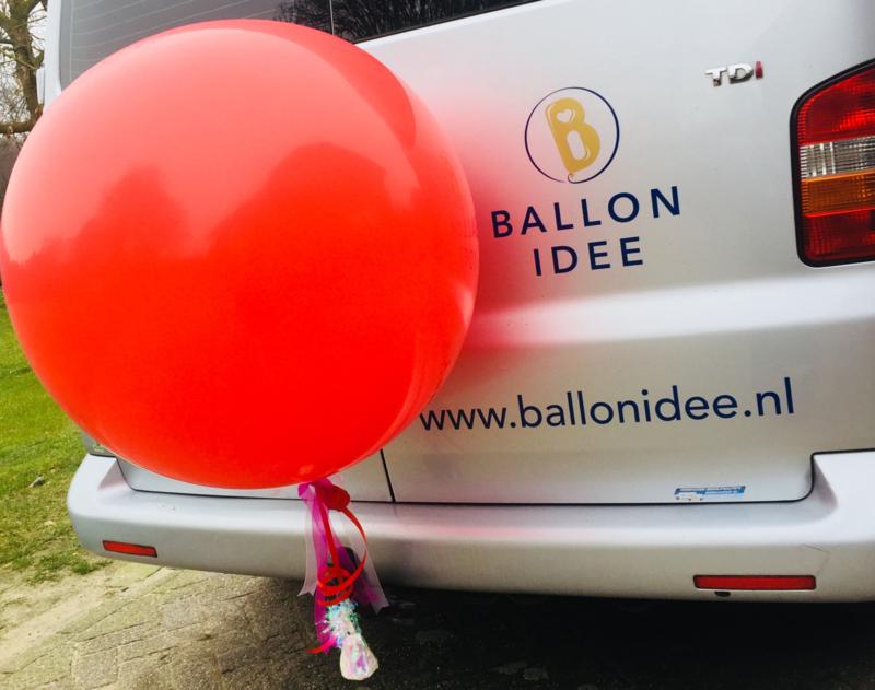 Gratis afhalen óf persoonlijk bezorgen door Ballon Idee