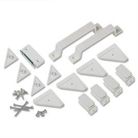 Ultra onderdelenset magneet/greep/verbinding deurhor