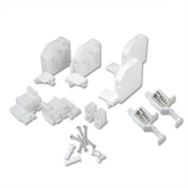 Super onderdelenset raam wit