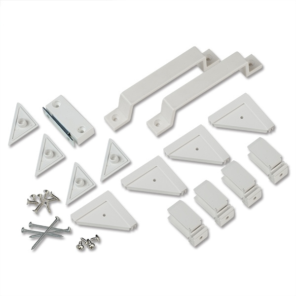 Hamstra Horren Onderdelen.Ultra Onderdelenset Magneet Greep Verbinding Deurhor Vaste