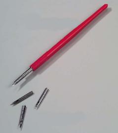 Flip holder + pen
