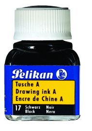 Pelikan Chinese tekeninkt