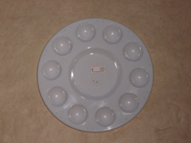 Palette Plastic round.