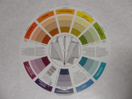 Kleuren cirkel Ø 23,5 cm