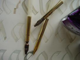 Ganzeveer set om zelf pen te maken