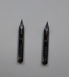 Nikko No G3 spitse pen, set van 2.