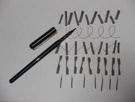 Pinselstift, nachfüllbar mit Tintenpatronen.