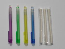 Refillable eraser pen.