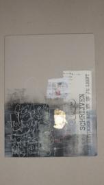 A4 gray board folder.