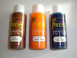 Design Press acrylic paint.