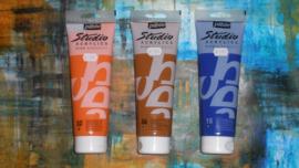 Pebeo Studio Acrylic paint.