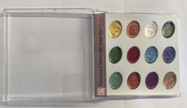 Zig Pearlescent metalic watercolour set 12 kleuren