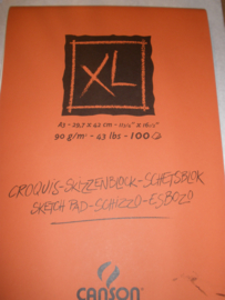 Canson Croqius XL sketchpad.